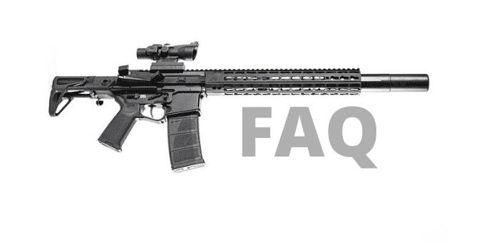 30 cal suppressor FAQ