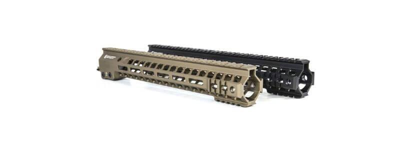GEISSELE AUTOMATICS LLC - AR-15 MK13 SUPER MODULAR RAIL HANDGUARD