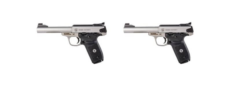 SMITH & WESSON - SW22 VICTORY TARGET 22LR 10+1 5.5 SS