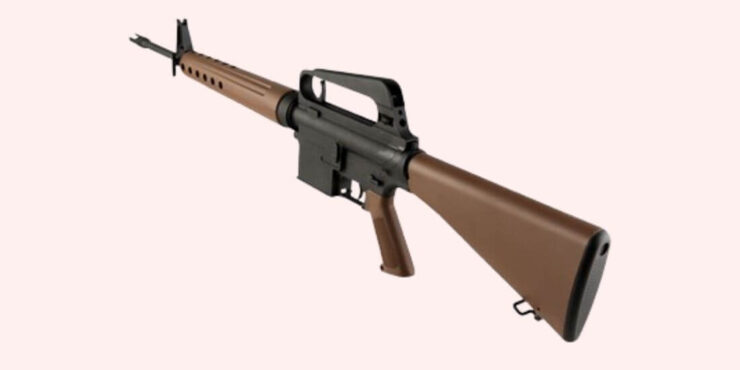 BRN-10 retro rifle