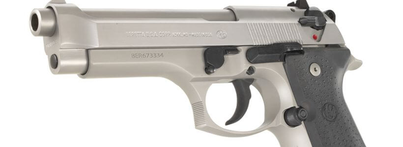 Beretta 92FS Inox Stainless 9mm