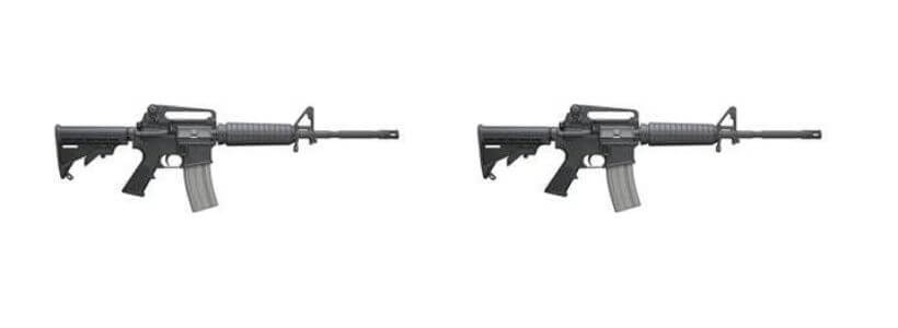 Bushmaster Firearms International XM 15 M4A3 rifle