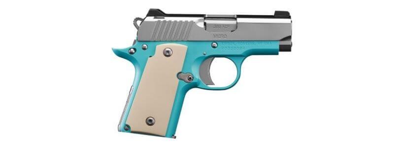 Kimber Micro .380 Bel Air Blue