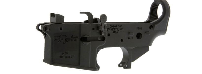 AR-15 9mm Dedicated Lower Receiver