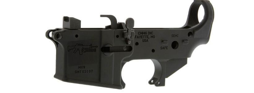 AR-15 9mm Dedicated Lower Receiver