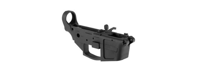AR-15 FM-9 9mm Billet Stripped