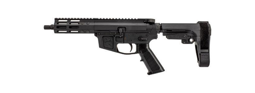 AR-15 FM-9 Complete Billet Pistol Lower Receiver