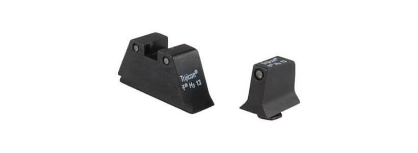 Trijicon - Suppressor Tritium Night Sights For Glock