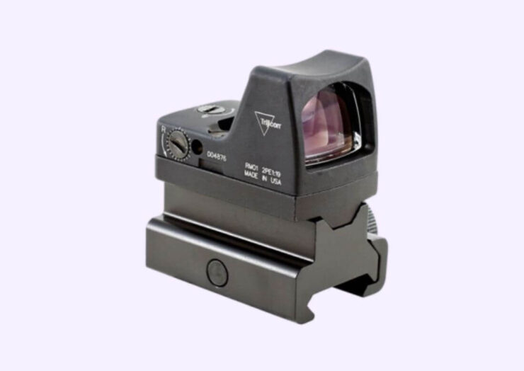 comparison between Holosun 507C and Trijicon RMR Sight