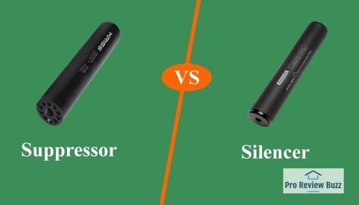 Suppressor Vs Silencer