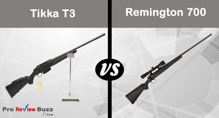 Tikka T3 vs. Remington 700 – Which One Is Better?