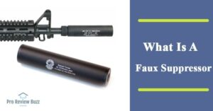What Is A Faux Suppressor