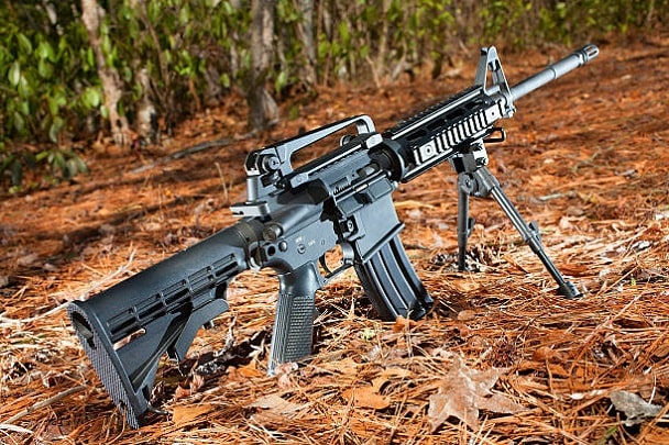 how to install a bipod on a rifle