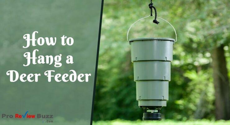 hanging deer feeder ideas