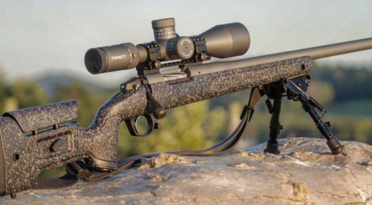 mrad riflescopes